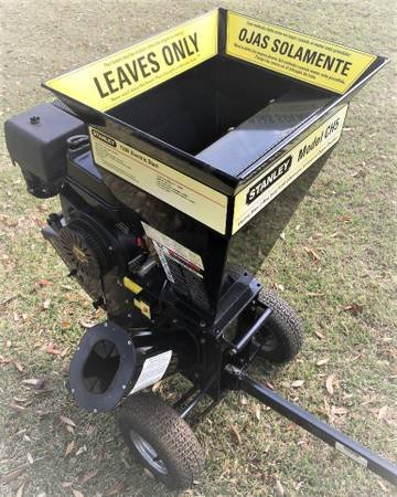 Photo Chipper Shredder, 15-HP 420cc Commercial Duty Electric S - $550 (BANDERA)