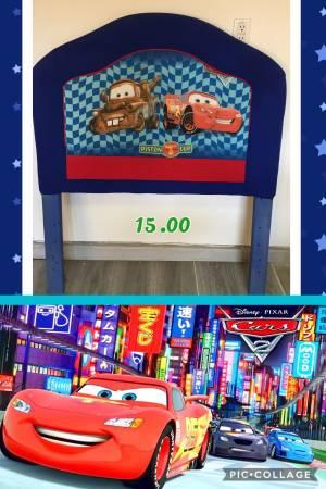 Photo Disney cars headboard...plz read description - $15 (San Antonio tx 281n and Evans)