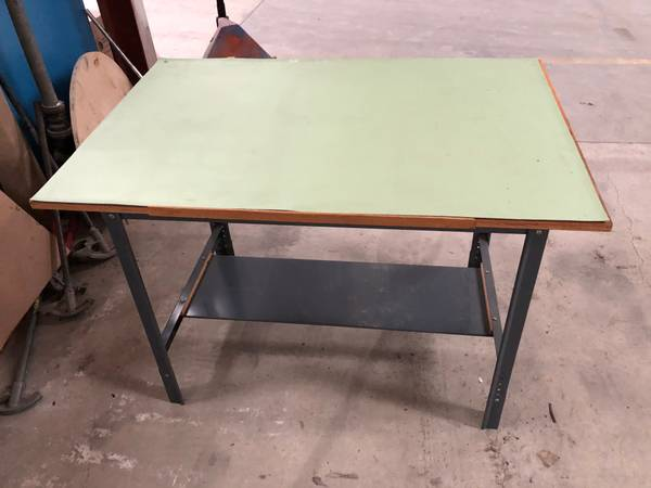 Photo Drafting Table, Vemco Arm and Flat Files - $150