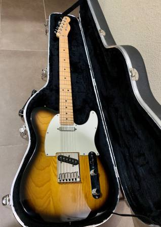 Photo Fender American Standard Telecaster 2000, A Beauty For Sale Or Trade - $1,200 (1604  Potranco Rd)