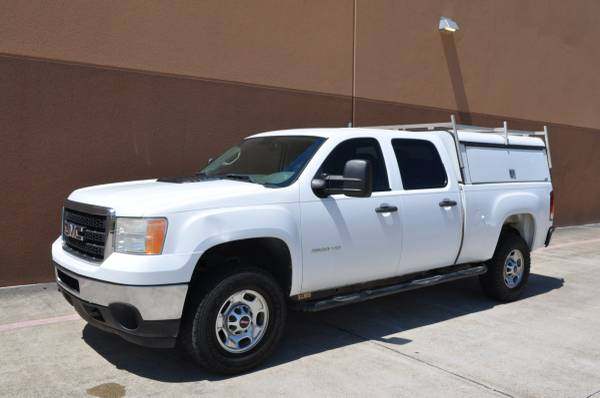 Photo GMC SIERRA 2500 HEAVY DUTY CREW CAB AUTOMATIC WELL MAINTAINED - $12850 (WOODLANDS)