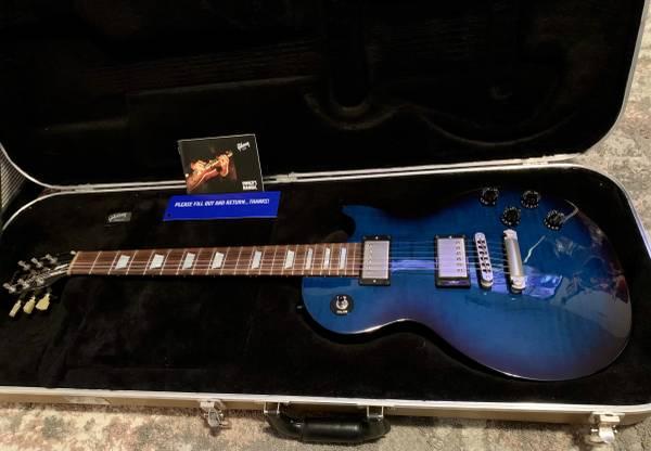 Photo Gibson Les Paul 100 Manhattan Midnight Blue, A Beauty For SaleTrade - $1,100 (1604  Potranco Rd)