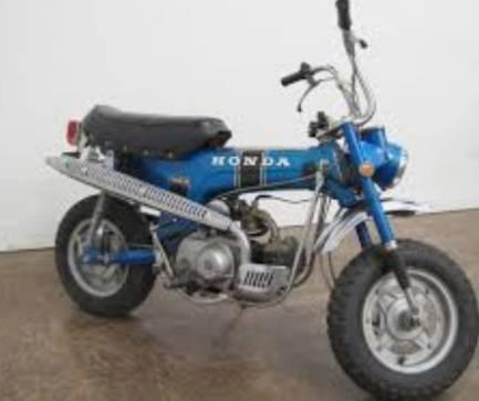 Photo Honda trail 70 - $2,400 (Bandera)