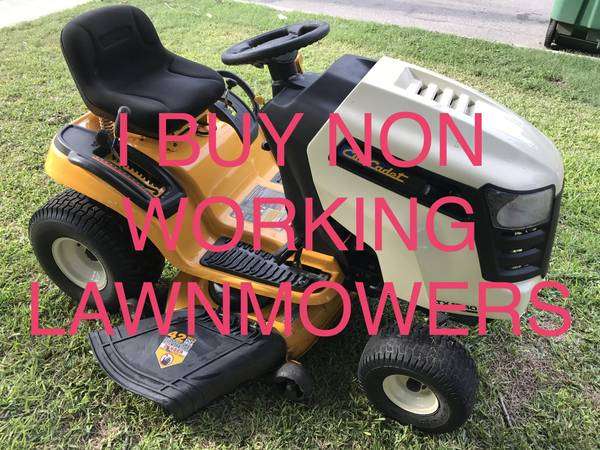 Photo I Buy Non Working Riding and Push Lawn mowers lawn mower - $1 (San Antonio)