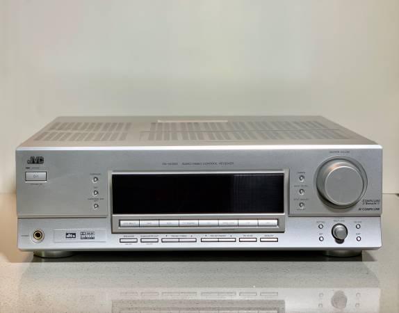 Photo JVC RX-6032V Audio-Video 3.2 Surround Receiver w Remote - $150