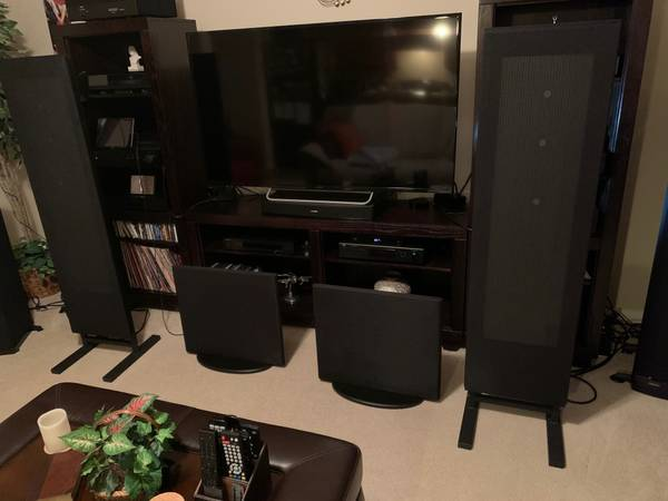 Photo Magnepan .7i39s  DWM Bass Panels - $1800 (San Antonio)