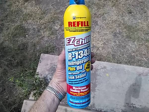 Photo New Refrigerant R134a AC cartruck - $12 (Hill Country-RR 12 north of San Antonio)