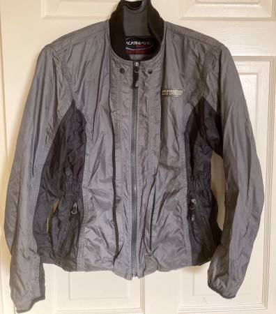 Photo OLYMPIA motorcycle jacket MEDIUM with liner  little used - $20 (Alamo Heights)