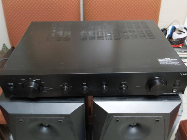 Photo Onkyo Integrated Amplifier A-5VL - $250 (Downtown)