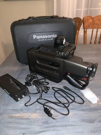 Photo PV-610 PANASONIC OmniMovie (VHS) HQ CAMCORDER - $50 (NE San Antonio)