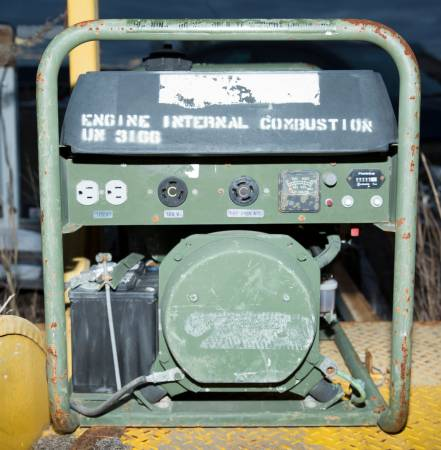 Photo Pow39r Gard Military Contract Portable 3000 watt Diesel Generator 30D36 - $530 (Medina, TX (Bandera County))