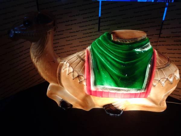 Photo RARE General Foam Plastics CAMEL Nativity Blow Mold Plastic YARD DECOR - $100 (NW San Antonio)
