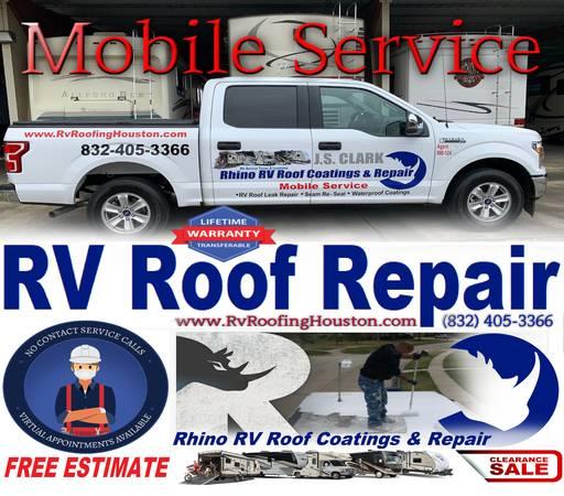 Photo RV ROOF mobile REPAIRS re-seal39s ROOF LEAKS waterproofing BEST PRICE - $1 (ALL OVER, TX  LA)