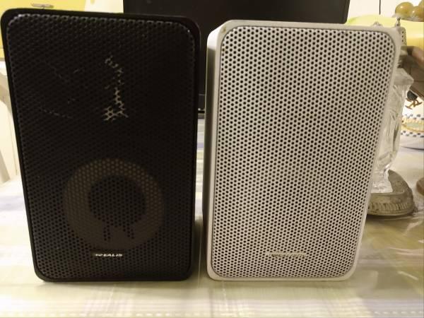 Photo Realistic Minimus-7 Speakers For Parts or Repair - $10 (San Antonio)