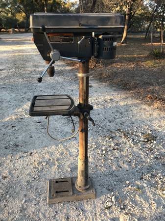 Photo Sears Craftsman 17quot Drill Press 1.5 HP - $375 (Southeast Blanco County, TX)