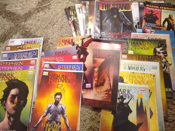 Photo Stephen King39s The Stand  the Dark Tower Graphic Series by Marvel - $50 (San Antonio)