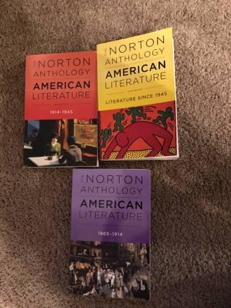 Photo The Norton anthology American literature - $75