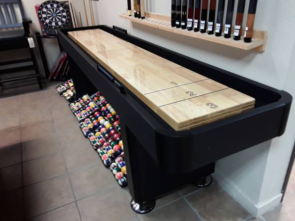 Photo 9 or 12 Ft. Shuffleboard Table  - $1299