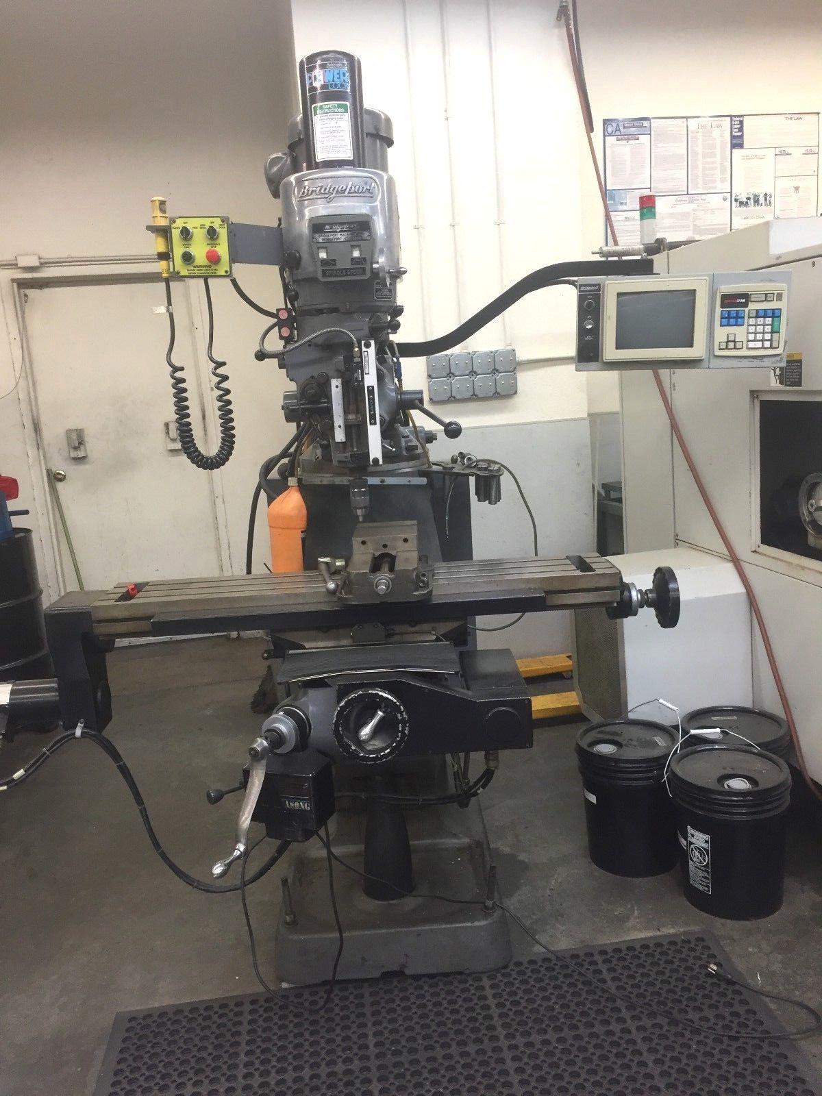 Photo Bridgeport EZ Track CNC Milling Machine