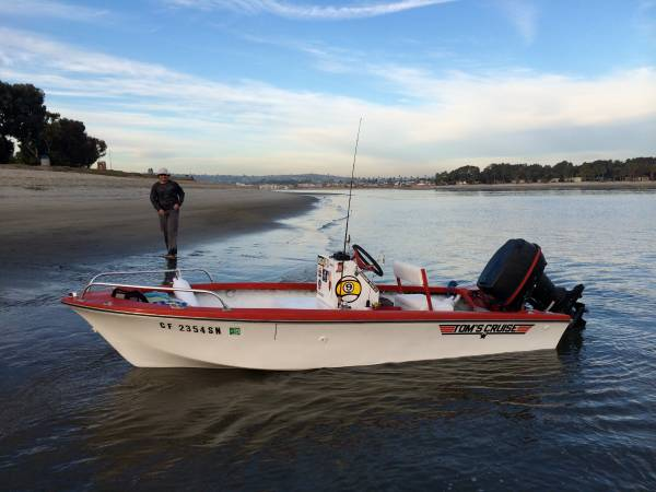 Photo 14ft Center Console Fishing Boat with Trailer For Sale - $4,000 (San Diego)