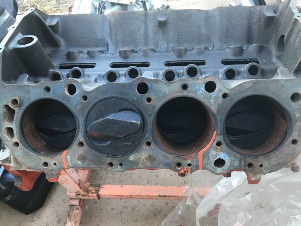 Photo 1965 1966 Dated Chevy 396 Big Block Motor  Turbo 400 Transmission - $850 (Alpine)