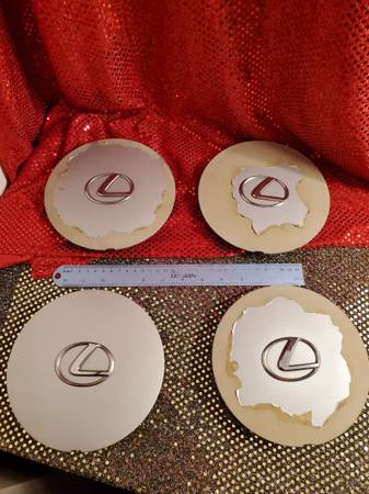 Photo 1992 Lexus LS400 Hub Cap Covers, Good - $65 (North Park)