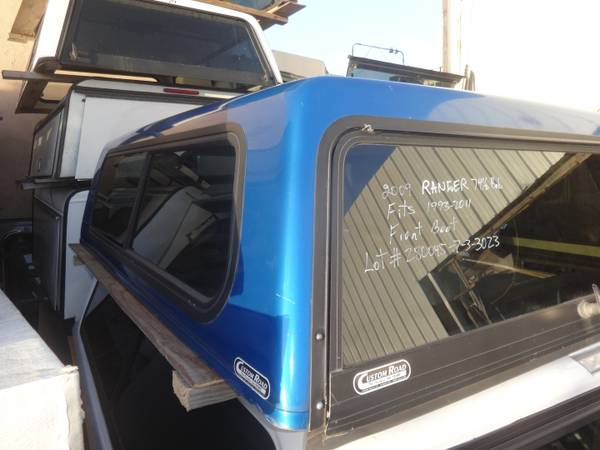 Photo 1993-2011 ford ranger 76 bed cer shell (9424 Jamacha Blvd. Spring Valley, CA)