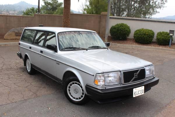 Photo 1993 Volvo 240 Wagon CLEAN TITLE - $7,000 (El Cajon)