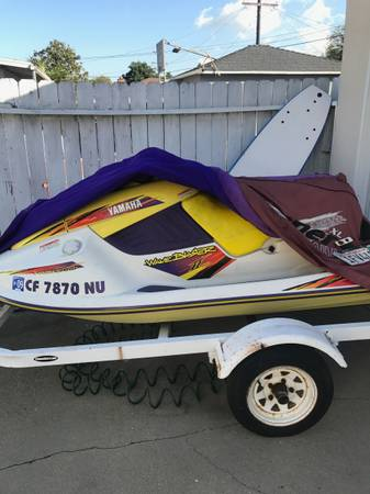 Photo 1995 Yamaha WaveBlaster 760 two seater 2 stroke with trailer - $3,800 (Oceanside)