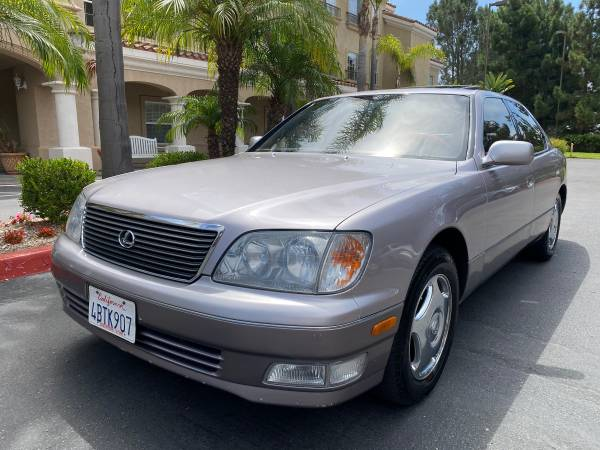 Photo 1998 Lexus LS400 or LS 400 - ONLY 114,000 Miles - $6,000 (Mira Mesa)