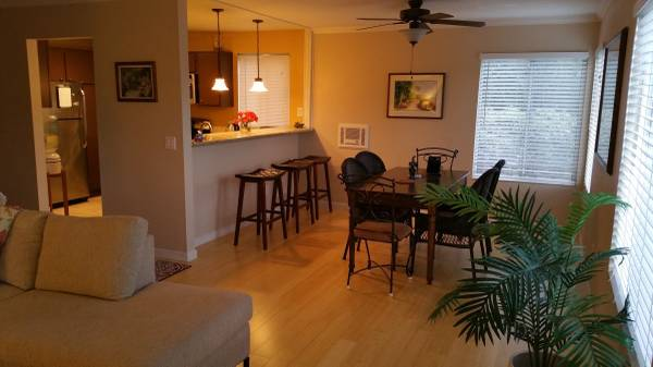 Photo 1b,1ba furnished condo, monthly (Solana Beach)