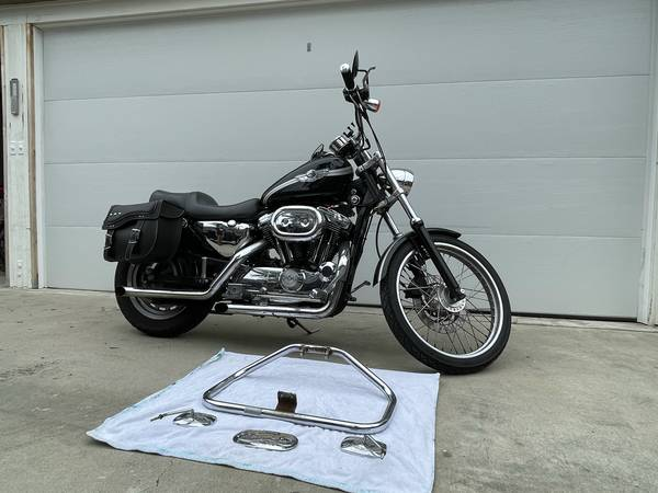 Photo 2003 Harley Davidson Sportster XL 1200 Anniversary Edition - $4,600 (Pacific Beach)