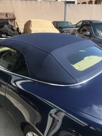 Photo 2007-15 Jaguar Convertible Top- Blue-Installed - $1,100 (Lemon Grove)
