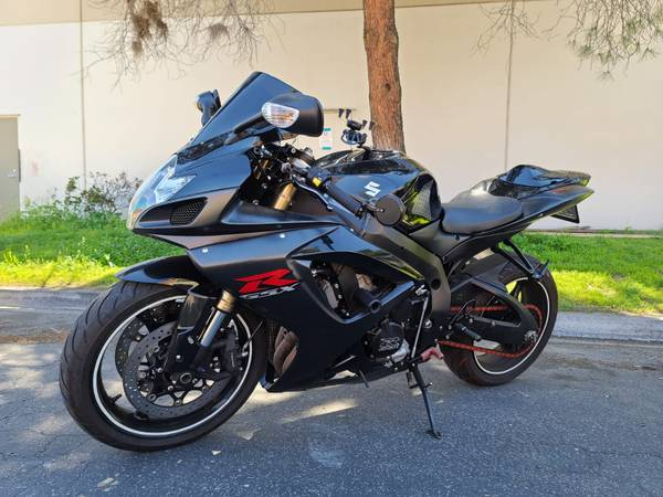 Photo 2007 Suzuki GSXR 600 MINT - $4,800 (Lakeside)