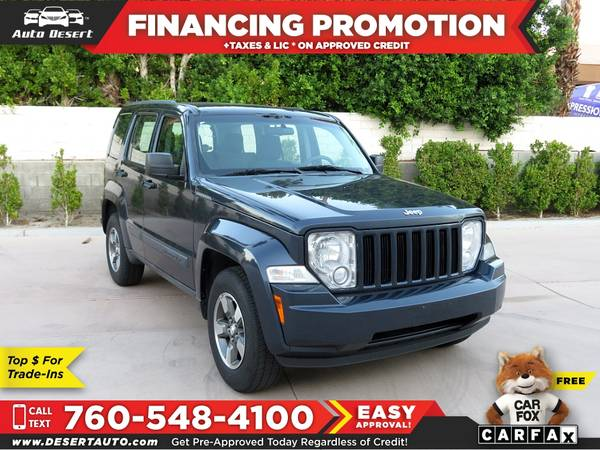 Photo 2008 Jeep Liberty Sport $109 mo - $8970 (BUY - SELL - TRADE - CONSIGN)