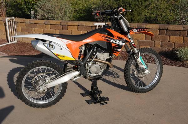 Photo 2011 KTM SXF-250 Dirt Bike for Sale - $3,500 (Bonita)