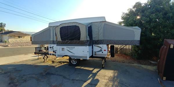 Photo 2015 Forest River Pop-Up Tent Trailer - $8500 (Santee)