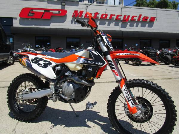 Photo 2017 KTM 450 XC-F - 34 hours and NICE UPGRADES - $6,777 (San Diego Downtown Airport India St Sassafras Exits off I-5)