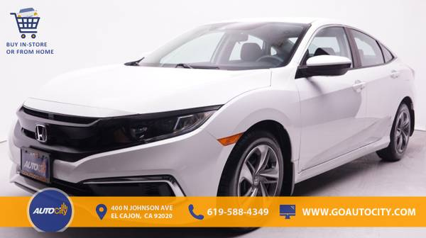 Photo 2019 Honda Civic LX CVT Sedan Sedan Civic Honda - $20,900 (2019 Honda Civic LX CVT Sedan)