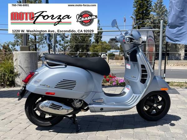Photo 2021 Vespa GTS Supertech 300 HPE  Only one in stock - $7,749 (Moto Forza Escondido)