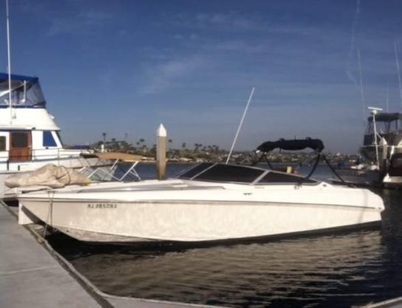 Photo 2639 Falcon cuddy cabin boat wakeboard powerboat 454 big block v8 - $14500 (Temecula)