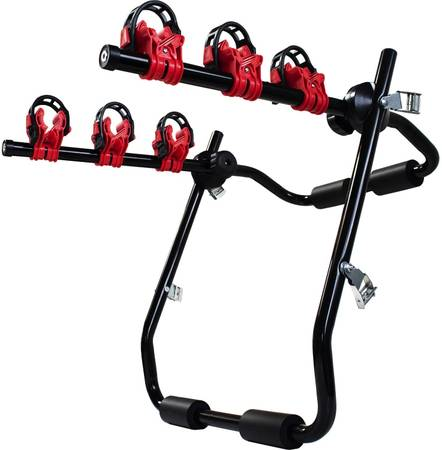 Photo 2 or 3 Bicycle Trunk Mounted Bike Rack Carrier (NEW IN THE BOX)