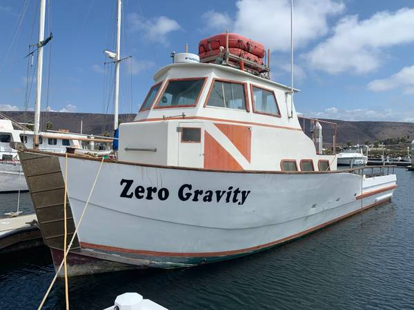 Photo 4439 Commercial Dive Fishing Charter Boat Yacht - Priced to Sell - $49,000 (San Diego (La Salina, Baja))