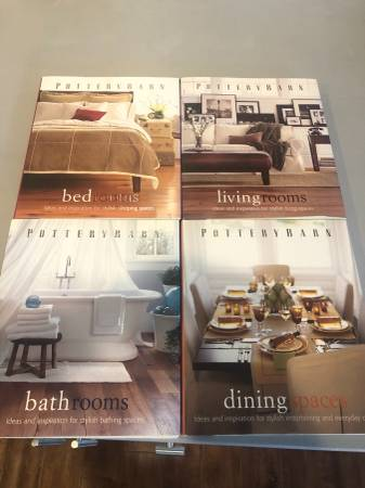 Photo 4 Pottery Barn Coffee Table Decor Books - LIKE NEW - $40 (Carlsbad - Bressi Ranch)