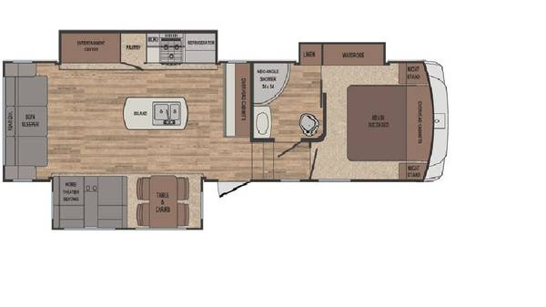 Photo 5th wheel Forrest River Sabre 295CK - $39,500 (Poway)