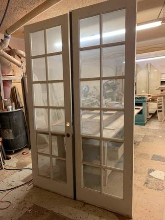 Photo 839 Double french doors - $450 (Escondido)
