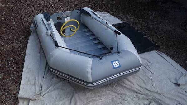 Photo 8 12 foot West Marine inflatable (Zodiac) plus new 3.5 hp outboard - $1,200 (BonitaChula Vista)