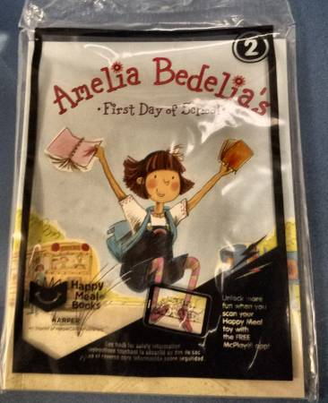 Photo AMELIA BEDELIA39S FIRST DAY OF SCHOOL,Happy Meal Book 2 from McDonalds - $1 (BAY PARK)
