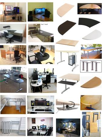 Photo Accessories for Ikea and Any Desks  Galant Desks (Mira Mesa)
