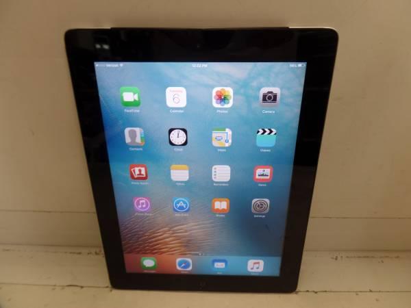 Photo Apple iPad 2 MC755LLA A1397 16GB WIFI  Cellular Verizon Black - $100 (San Diego)